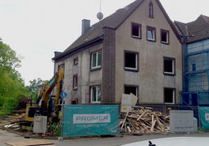 Abbruchhaus Claudiusstr. 38
